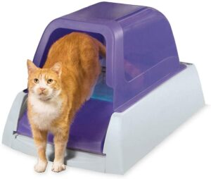 PetSafe Scoop Free Automatic Self Cleaning Hooded Cat Litter Box