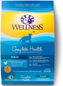 Wellness Complete Health Natural Dry Cat Food Chicken & Rice