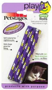 HDP Petstages Night time Catnip Rolls