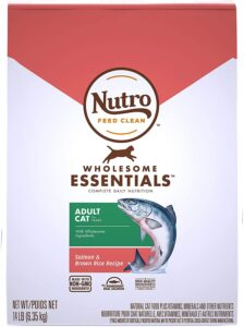 Nutro Dry Adult Cat Food Salmon