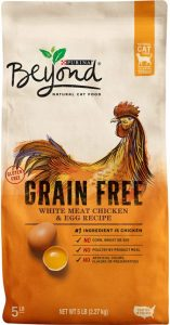 Purina Beyond Grain Free6 best dry cat foods for outdoor cats