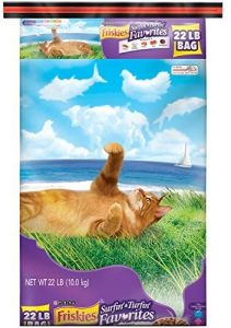 Friskies Dry Cat Food, Surfin' and Turfin' Favorites