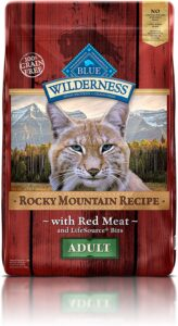 Blue Buffalo Wilderness Rocky Mountain Recipe High Protein Grain Free, Natural Adult Dry Cat Food