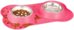 Little Cat Food and Water Bowl