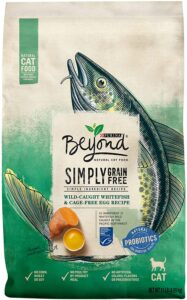 Purina Beyond Grain Free Ocean Whitefish and Egg Cat Foof