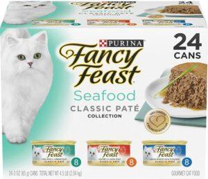 Purina Fancy Feast Seafood Classic pate cat food