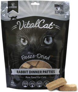 Vital Essentials Rabbit Freeze-dried patties